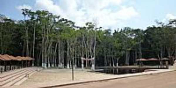 Balneário em Pedra Branca do Amapari-Foto:Alan.Kardec