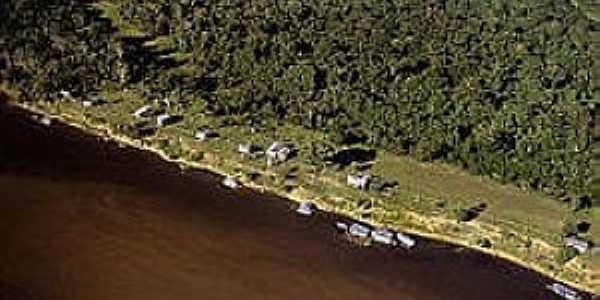 Mamirauã-AM-Vista aérea da Reserva-Foto:uc.socioambiental.org