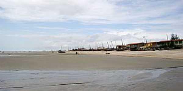 Praia do Preá-CE-Vista da praia-Foto:Beatriz Barreto Tanezini