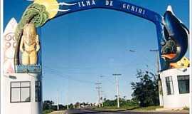 Ilha de Guriri - Ilha de Guriri-ES-P�rtico de entrada-Foto:arenaaomar.com.br
