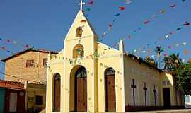 Praia de Flexeiras - Praia de Flexeiras-CE-Igreja de São Pedro Apóstolo-Foto:Vandi Jr