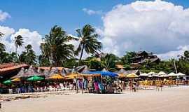 Praia de Flexeiras - Praia de Flexeiras-CE-Orla da praia-Foto:ARAGÃO