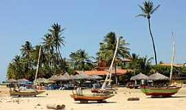 Praia de Flexeiras - Praia de Flexeiras-CE-Orla da praia-Foto:Vandi Jr