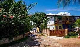 Praia de Flexeiras - Praia de Flexeiras-CE-Rua da praia-Foto:ARAGÃO