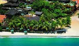 Praia de Flexeiras - Praia de Flexeiras-CE-Vista aérea-Foto:Pinterest