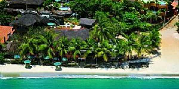 Praia de Flexeiras-CE-Vista aérea-Foto:Pinterest