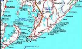 Saubara - Mapa