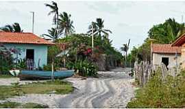 Atins - Atins-MA-Centro do Povoado-Foto:www.viajenaviagem.com