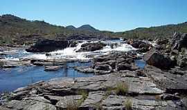 São Jorge - São Jorge-GO-Corredeiras do Rio Preto-Parque Nacional da Chapada dos Veadeiros-Foto:P. SANTOS