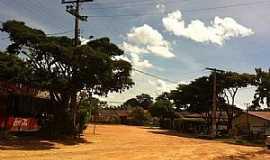 São Jorge - São Jorge-GO-Ruas do Povoado-Foto:Iervolino Luis