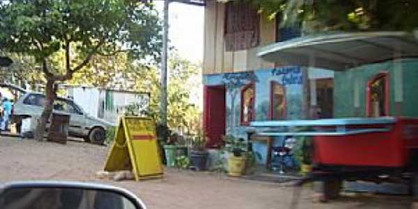 São Jorge-GO-Centro do Povoado-Foto:neide oliveira