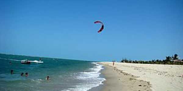 Barra Grande-PI-Kitesurf na praia-Foto:Edilson Morais Brito