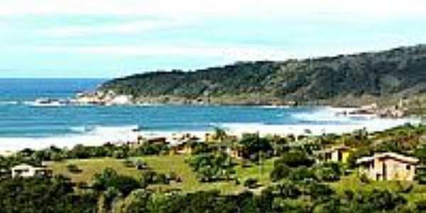 Vista da Praia do Rosa-Foto:baixaki.