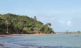 Praia Carro Quebrado - Fim da Praia Carro Quebrado-AL-Foto:jamelu