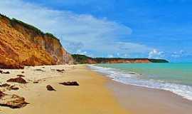 Praia Carro Quebrado - Praia Carro Quebrado-AL-Vista da praia-Foto:www.qualviagem.com.br