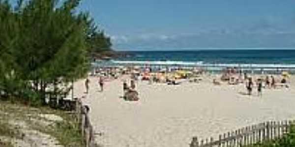 Vista da Praia da Ferrugem-Foto:vidadeturista.