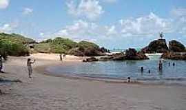 Praia de Tambaba - Naturalista - Praia de Tambaba-Foto:aracagienoticiapb.