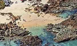 Praia de Tambaba - Naturalista - Vista da praia-Foto:pedroneto.