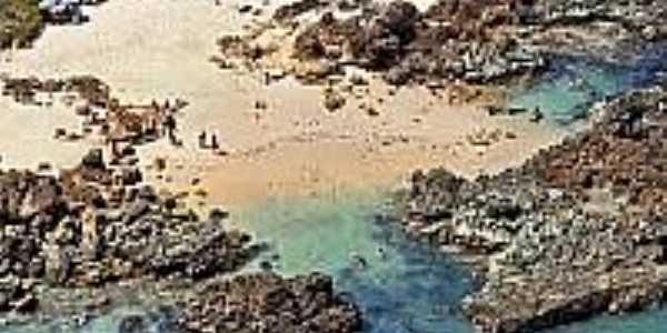 Vista da praia-Foto:pedroneto.