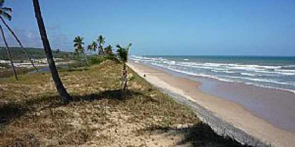 Praia de Massarandupió-Naturalista-BA-Orla da praia-Foto:www.tripadvisor.com.b