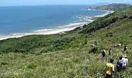 Praia da Galheta  - Naturalista - Chegada na Praia da Galheta-Foto:ecoviagem.uol.