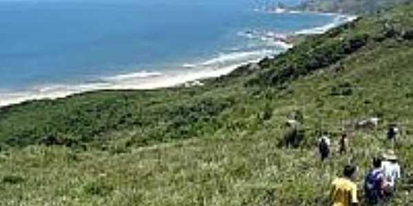 Chegada na Praia da Galheta-Foto:ecoviagem.uol.