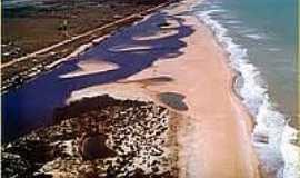 Praia de Barra Seca - Naturalista - Barra Seca - Única praia oficial de naturismo do ES-Foto:faiturismoqui.
