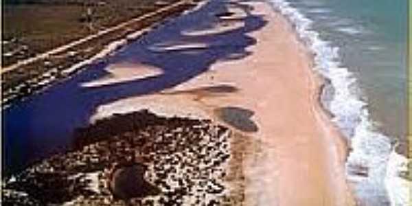 Barra Seca - Única praia oficial de naturismo do ES-Foto:faiturismoqui.