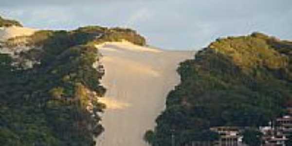 Morro do Careca em Praia de Ponta Negra-RN-Foto:Marcus Sampaio