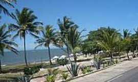 Praia de Taperapuã - Orla Marítima-Foto:portoseguro.