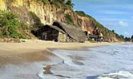 Jacumã - Casas de pescadores na praia de Viking-Foto:euromedbeer