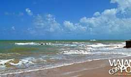 Jacumã - Jacumã-PB-Praia da cidade-Foto:viajandocompouco.com.br