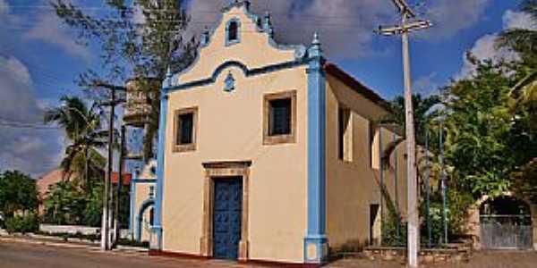 Jacumã-PB-Igreja Matriz-Foto:Egberto Araújo