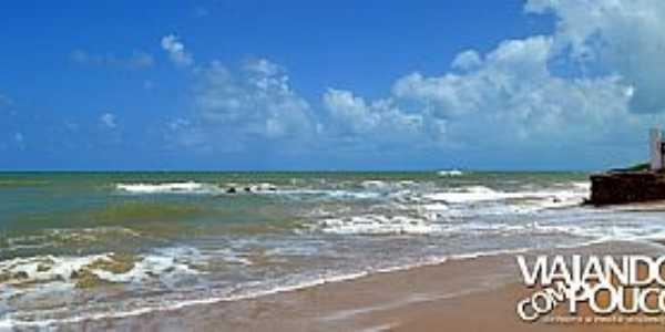 Jacumã-PB-Praia da cidade-Foto:viajandocompouco.com.br