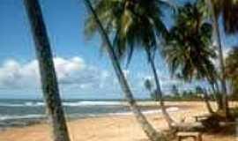 Três Coqueiros - Praia de Três Coqueiros-Foto:portaldemarau.