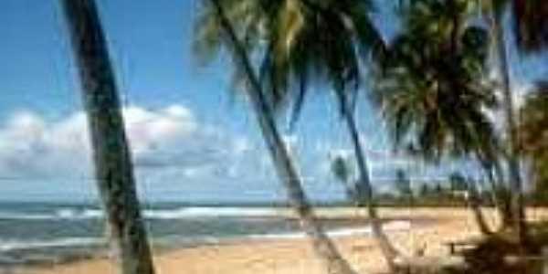 Praia de Três Coqueiros-Foto:portaldemarau.