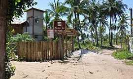Praia da Bombaça - Praia da Bombaça-BA-Caminho da praia-Foto:www.praias-360.com.br