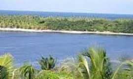 Praia de Cassange - Praia e Lagoa do Cassange-Foto:ecoviagem.