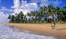 Praia de Cassange - Vista da praia-Foto:alexuchoa.