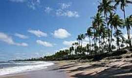 Praia de Cassange - Vista da praia-Foto:euamoabahia.