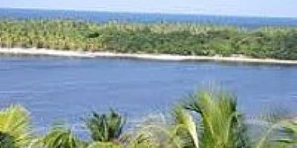 Praia e Lagoa do Cassange-Foto:ecoviagem.