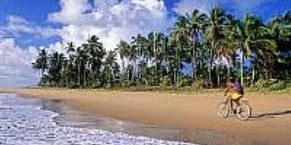 Vista da praia-Foto:alexuchoa.