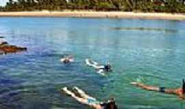 Praia de Saqua�ra - �guas calmas na Praia de Saqua�ra-Foto:shangri-la.