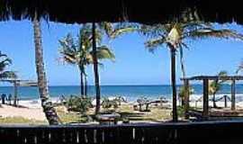 Praia de Saqua�ra - Orla da praia-Foto:mashpedia.