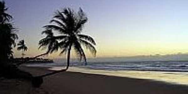 Nascer do Sol na Praia de Saquaíra-Foto:peninsulamarau.