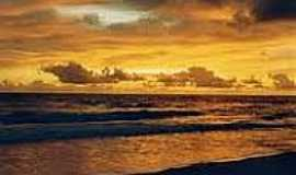 Praia dos Algodões - Nascer do Sol na Praia dos Algodões-Foto:sitioalgodoes.