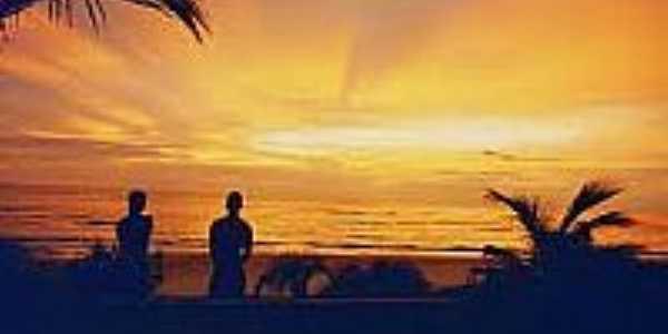 Pôr do Sol na Praia dos Algodões-Foto:fotolog.