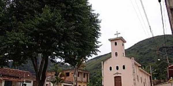 Santo Antônio do Salto-MG-Praça e Igreja de Santo Antônio-Foto:GELASBRFOTOGRAFIAS