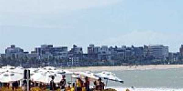 Vista da cidade de Praia do Bessa-Foto:walterfmota