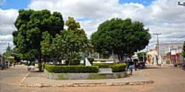 Praça Sebastião Rocha Filho em Sebastião Laranjeiras por Folha Sebastianense